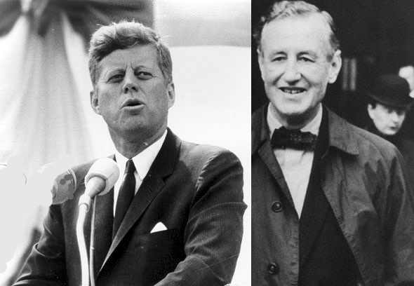 President John F. Kennedy. Kennedy was known to be a big fan of Fleming and listed From Russia With Love as one of his top 10 favourite books. Bizarrely, both Kennedy and his assassin Lee Harvey Oswald are believed to have been reading Bond novels the night before Kennedy was killed.