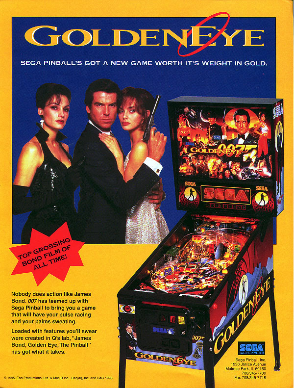 Play GOLDENEYE Pinball