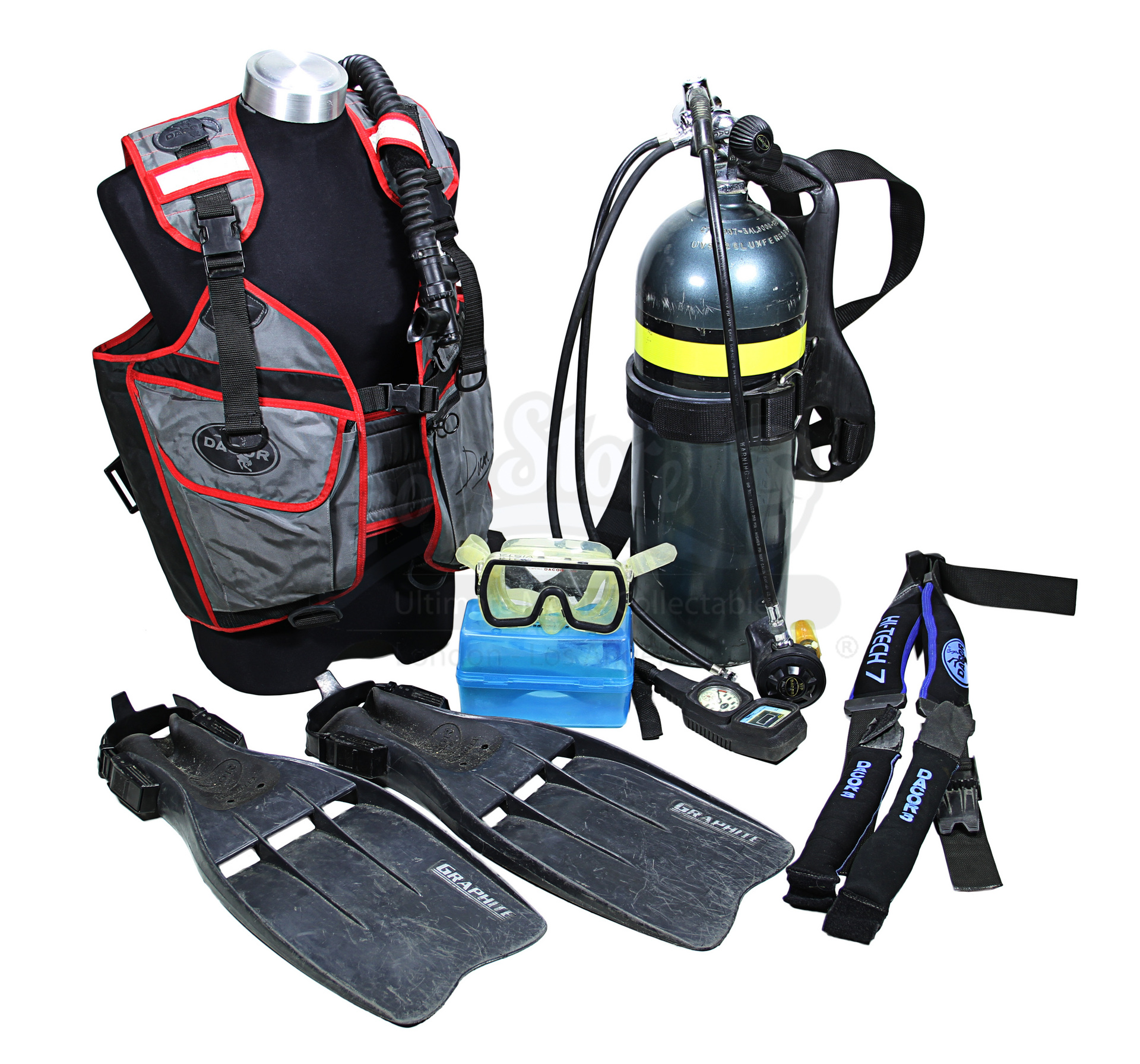 James Bond: Licence To Kill James Bond's (Timothy Dalton) Scuba Equipment