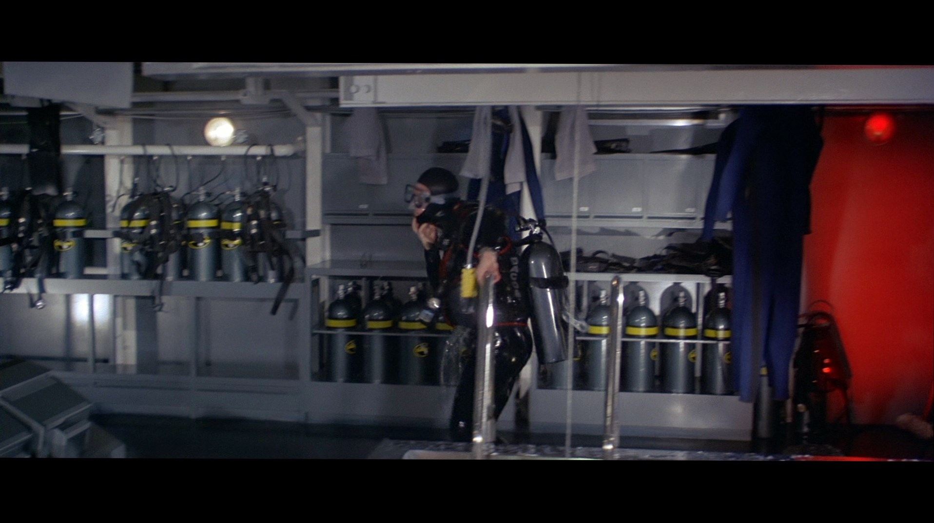 James Bond's (Timothy Dalton) Scuba Equipment