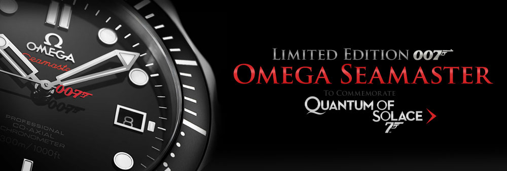 Quantum of Solace Limited Edition Omega Seamaster Planet Ocean